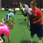 lineman training football